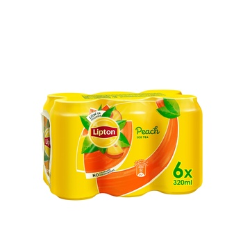 Lipton Ice Tea Peach 6x320 ml