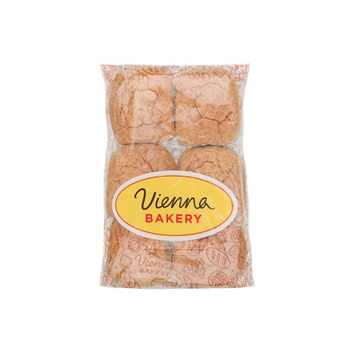 Vienna Bakery Brown Roll 6 Pieces 60g