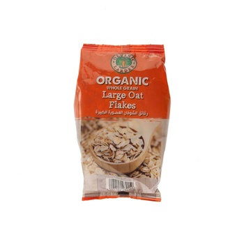 Organic Larder Organic Oat Flakes Large 500G