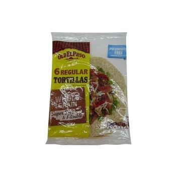 Old El Paso Wholegrain Tortillas 240g