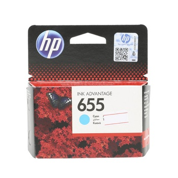 HP Cartridge 655 - Cyan Color