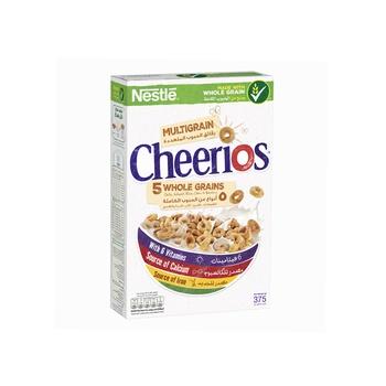 Nestle Cheerios Multi Whole Grains Cereal 375g