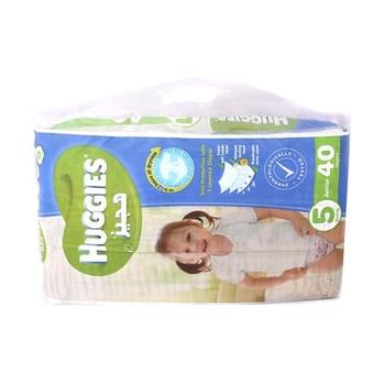 Huggies 3 Layered Diaper 5 Junior 40 Diapers Pack