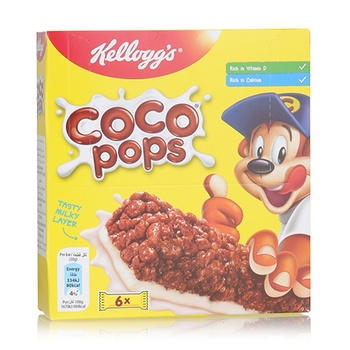 Kellogs Coco Pops Cereal Bar 6x20g