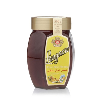 Langnese Pure Bee Honey Golden Clear 500g