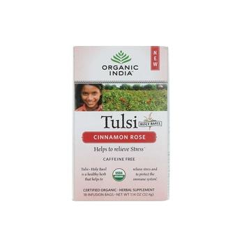 Organic India Cinnamon Rose  32.4g