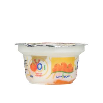 Al Rawabi Yoghurt Apricot 130g
