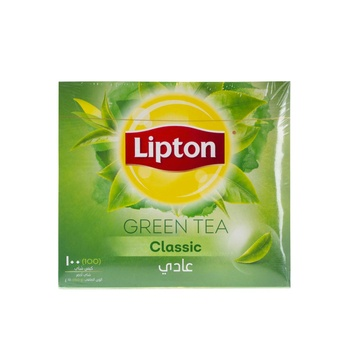 Lipton Clear Green Tea Classic 100pcs