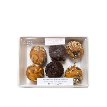 Skinny Genie Assorted Gluten Free Muffin Bites  30g 6 pcs