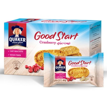 Quaker Goodstart Cranberry 6 X 45g