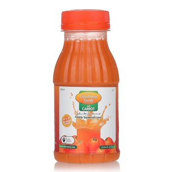 Goodness Foods Freshly Squeezed Carrot Juice 200ml