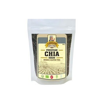 London Superfoods Organic Chia Seeds Gluten Free 300g
