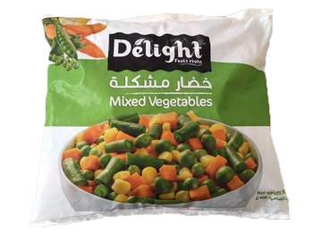 Delight Mixed Vegetables 800g