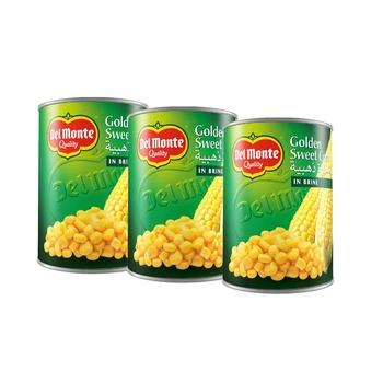Del Monte Sweet Corn 410g Pack of 3