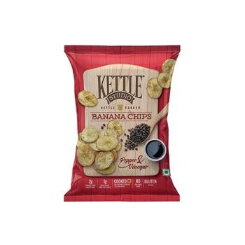 Kettle Banana Chips Pepper & Vinegar 125g