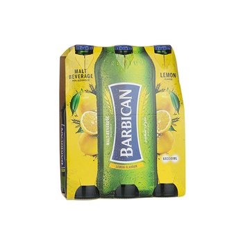 Barbican Non Alcoholic Malt Beverage Lemon Lime Flavor 6x330ml