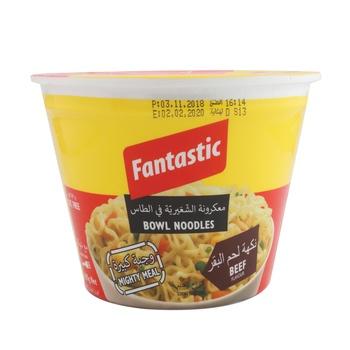 Fantastic Bowl Noodle - Beef 105g