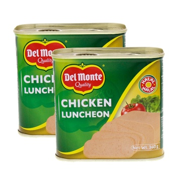 Del Monte Luncheon Meat Chicken 2 x 340gms @ Special Price