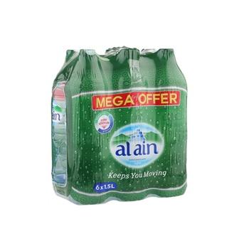 Al ain mineral water 1.5 liters pack of 6