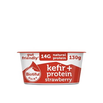 Biotiful Kefir Protein Strawberry 130g