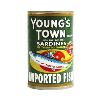 Young Town Sardine Tomato Sauce 155g