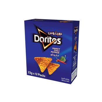 Doritos Sweet Chili Tortilla Chips 12x23g