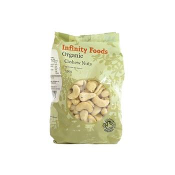Infinity Foods Organic Cashew Nuts 250g