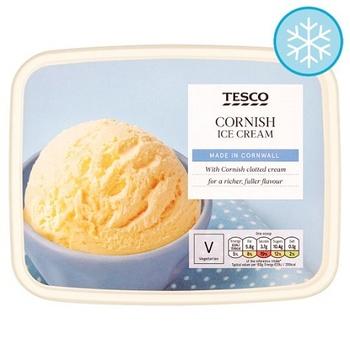Tesco Cornish Ice Cream 2 Ltr