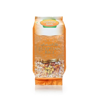 Goodness Foods Egyptian Rice 2Kg