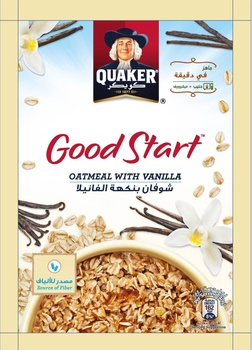 Quaker Good Start Oatmeal Vanilla 40g