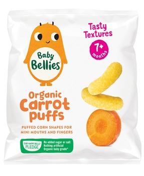 Baby Bellies Organic Carrot Puffs (7+Months) 12g