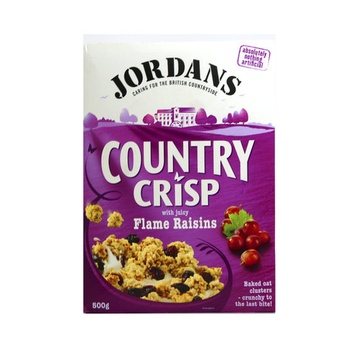 Jordans Country Crisp Flame Raisin 500g