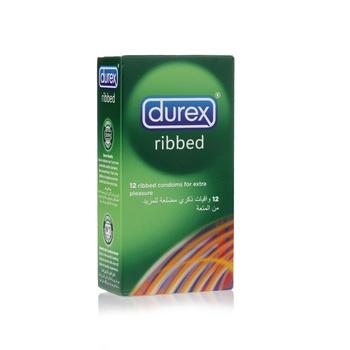 Durex Ribbed / Tickling Ribs Condom 12's