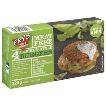 Frys Chicken Style Burger 320g