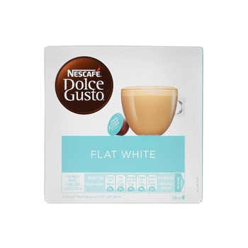 Nescafe Dolce Gusto Flat White Coffee Capsules 187.2g
