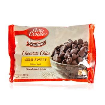 Betty Crocker Creations Choc Chips Semi 200g