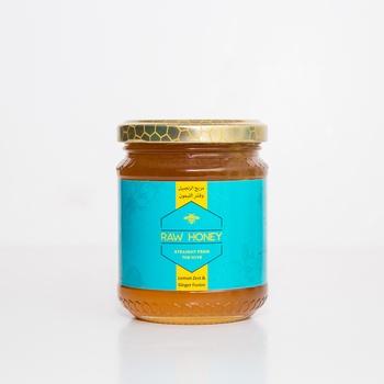Raw Honey Lemon Zest & Ginger Fusion 250g