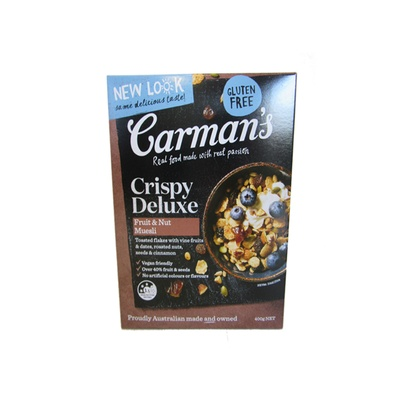 Carman'S Crispy Deluxe Muesli  Fruit & Nut 400g