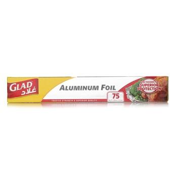Glad Aluminium Foil 75 Sq.Ft 75 Sq.Ft