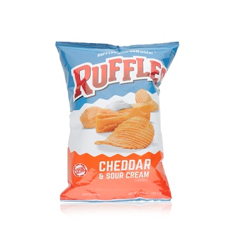 Ruffles Potato Chips - Cheddar & Sour Cream 182g