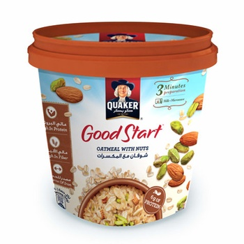 Quaker Oat Good Start With Nuts 50g