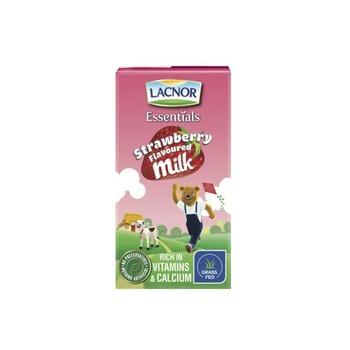 Lacnor Junior Milk Strawberry 125ml