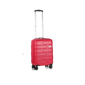 American Tourister Hard Luggage 4  Wheels Trolley Set -Bricklane 55 Cm Brick Red