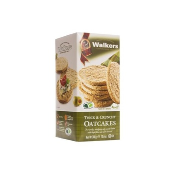Walkers Thick & Crunchy Oatcakes with Bran 300g