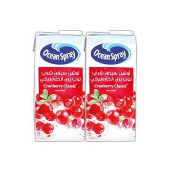 Oceanspray Cranberry Classic 1 ltr Pack of 2