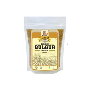 London Superfoods Organic Bulgar Medium 350g