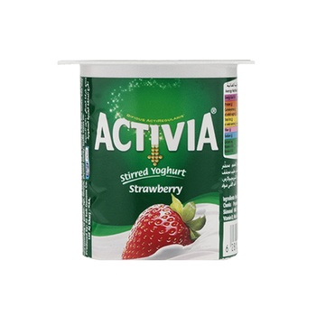 Activia Yoghurt Strawberry 125 ml