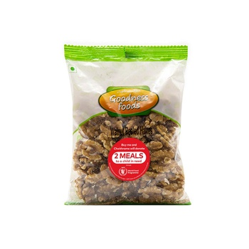 Goodness Food Walnut Peeled Halves 200g