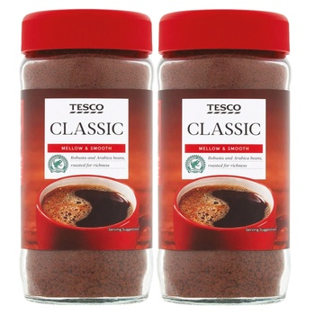 Tesco Classic Instant Coffee 2 X 200g