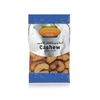 Goodness Foods Cashew Black Pepper Packet 20g